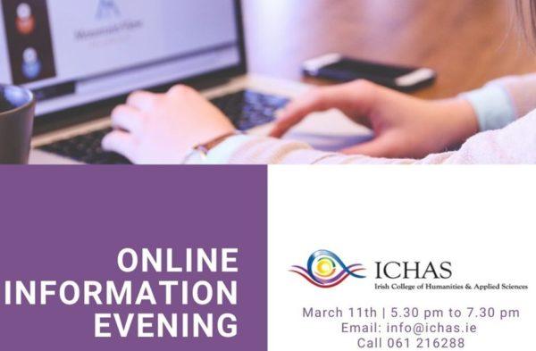 ICHAS Online Information Evening
