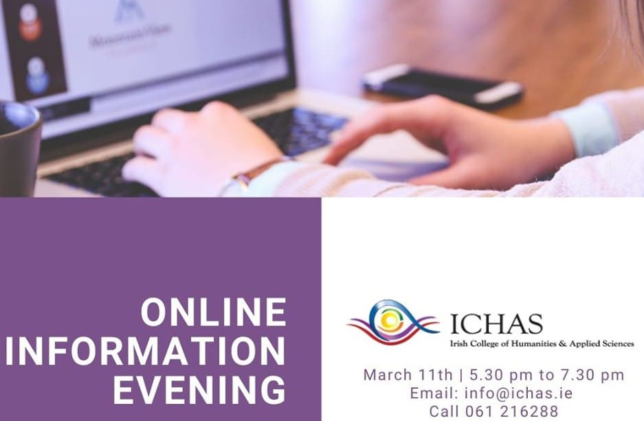 ICHAS Online Information Evening