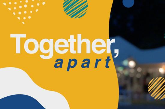 "Maynooth University Free Virtual Arts Event, ""Together, Apart"""