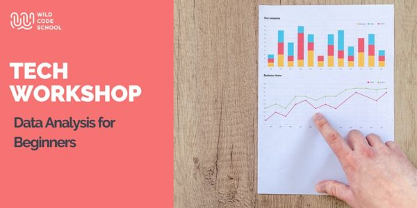 June 18th: Free Online Tech Workshop – Data Analysis for Beginners